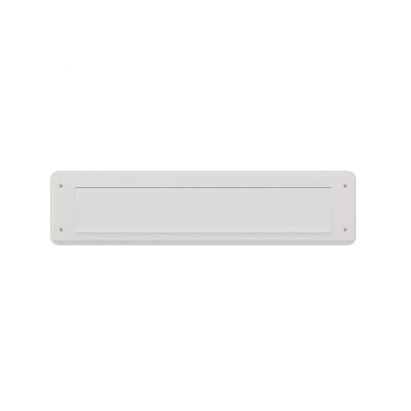 door-line briefplaat classic wit