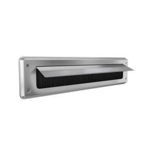 door-line letterboxplate classic aluminium